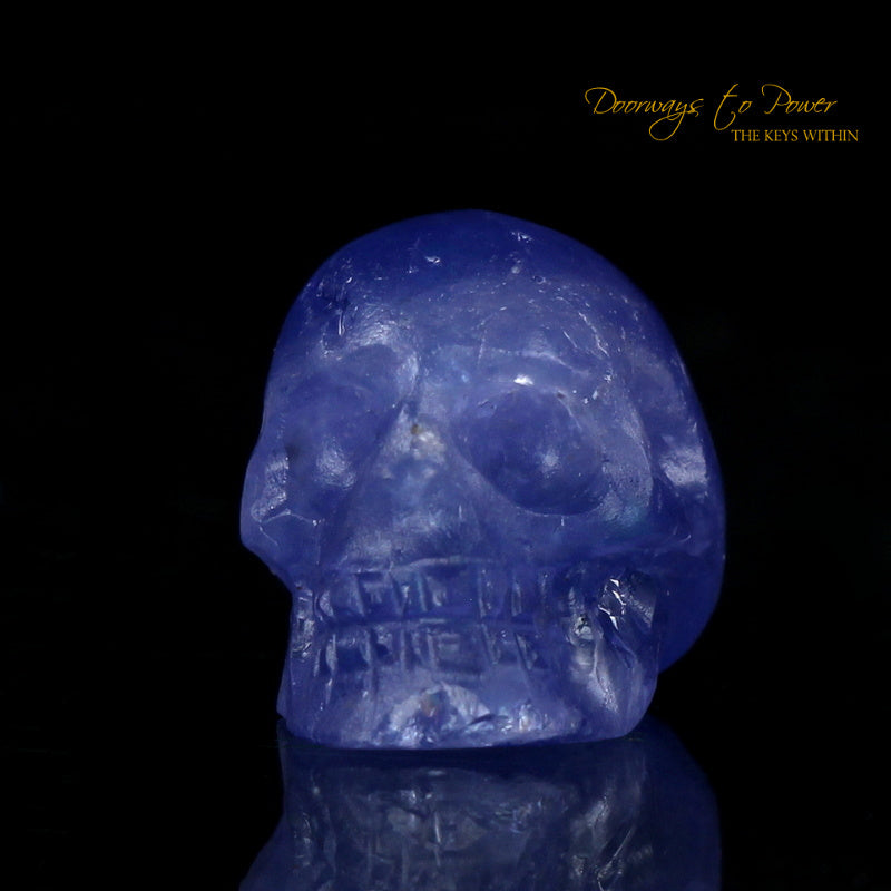 Tanzanite Crystal Skull (Ultra Rare)