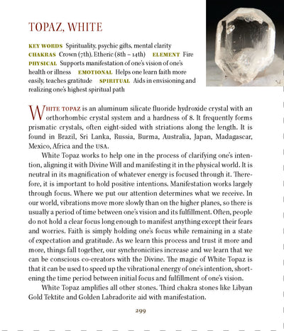 White Topaz Metaphysical Properties