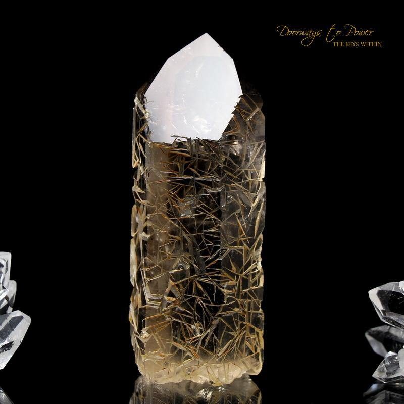 Golden Harmonics Spirit Paths Quartz Crystal Dow