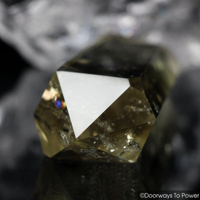 John of God Citrine Phantom Quartz Crystal