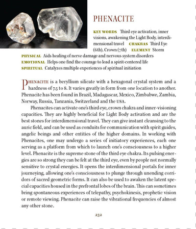 Phenacite Meanings Properties