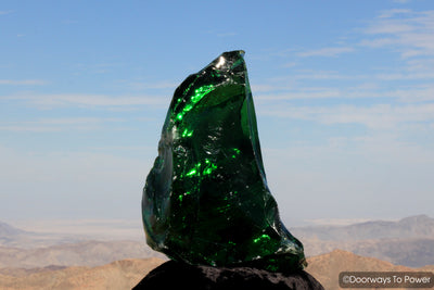 Emerald Shift Monatomic Andara Crystal 'Atlantean Master of Mysteries'