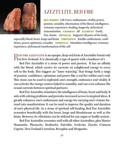 Red Fire Azeztulite Metaphysical Properties