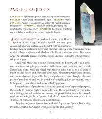 Angel Aura Metaphysical Properties Meanings - Book of Stones