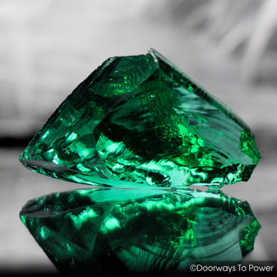 Emerald Green Monatomic Andara Crystal Thoth the Atlantean