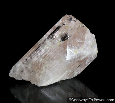 Pink Danburite Crystal w/ Glyphs Synergy 12 Stone