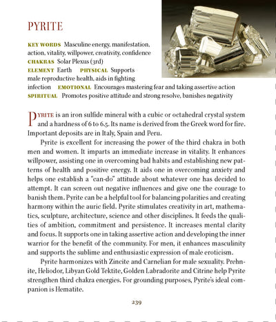 Pyrite Metaphysical Properties Meanings