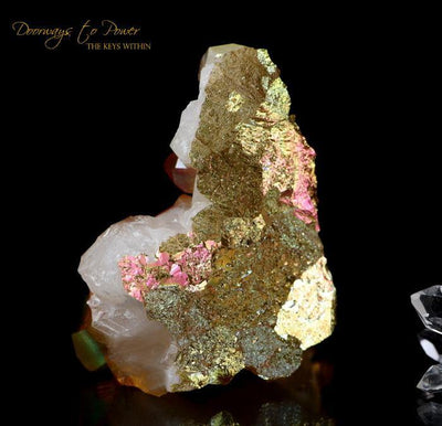 Golden Aura Quartz Crystal