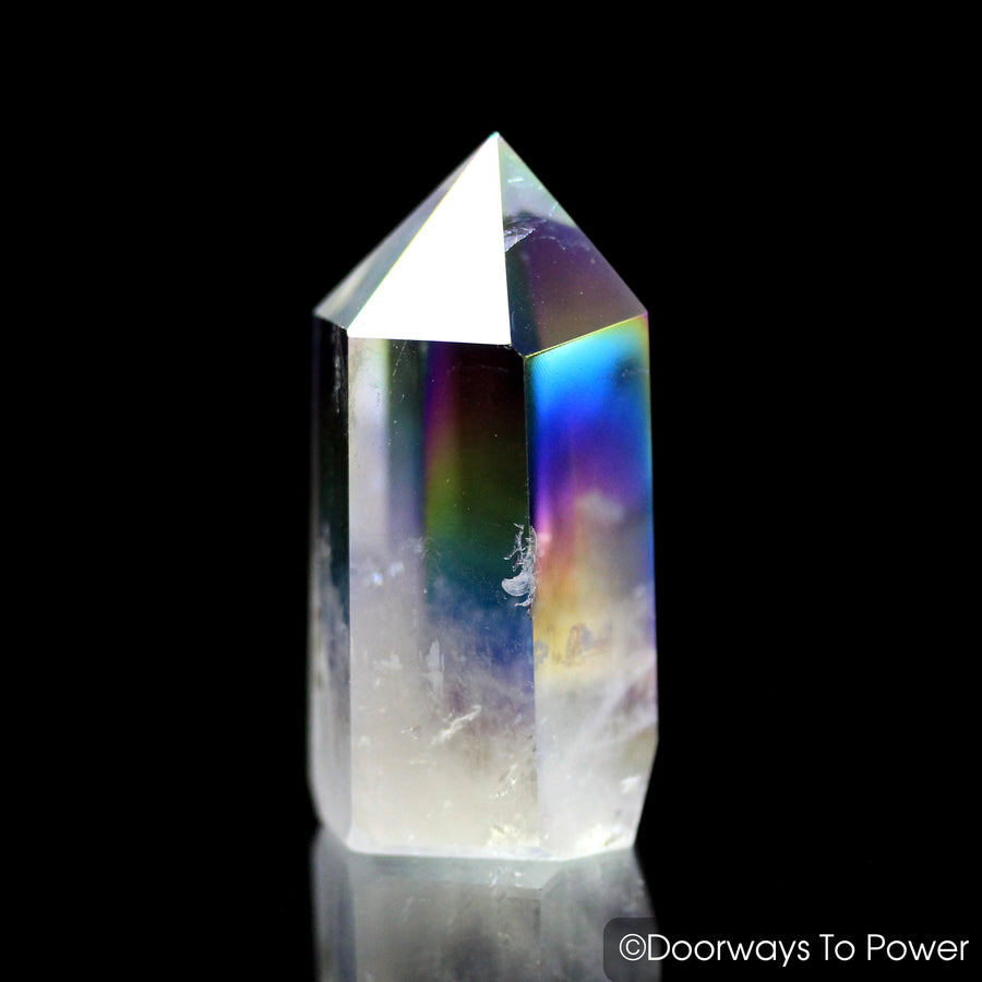 Angel Aura Quartz Generator Crystal Point