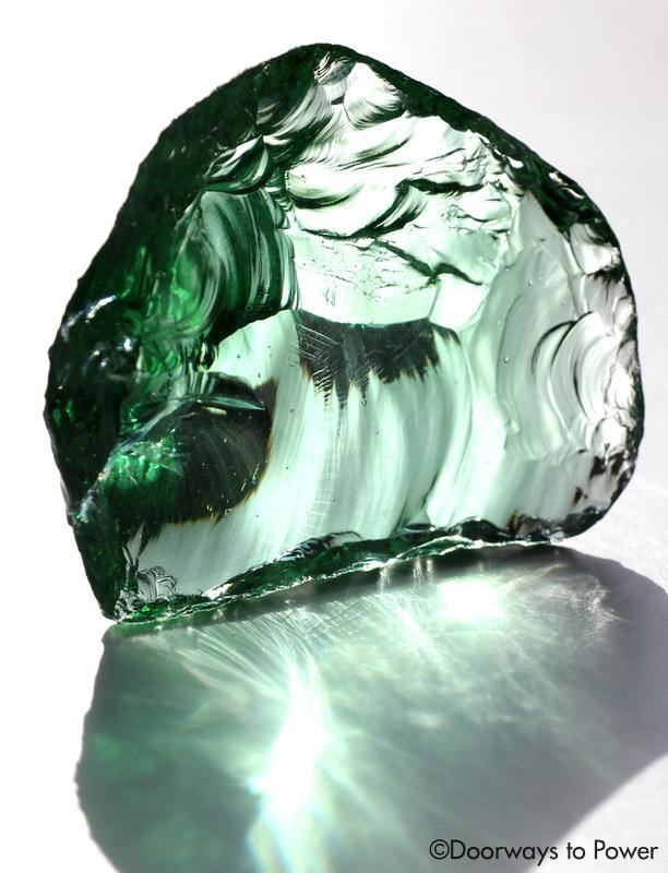 Ethereal Mint Andara Crystal Mt Shasta 'Sacred Resonance'