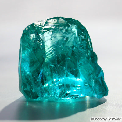 Cyan Angeles Monatomic Andara Crystal 'Celestial Messenger'