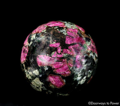 Eudialyte Aegirine Crystal Sphere 'Higher Love'