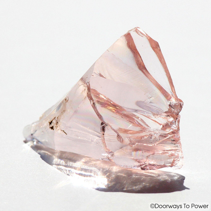 HGW Pink Lady Nellie Andara Crystal 'Heart of God Within' Rainbows