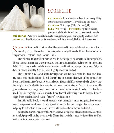 Scolecite Metaphysical Properties Meanings