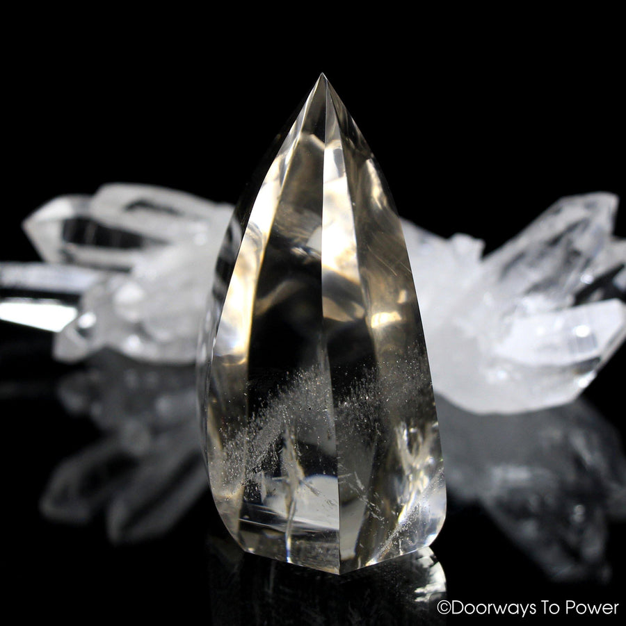 John of God Blessed Citrine Quartz Casa Crystal Flame