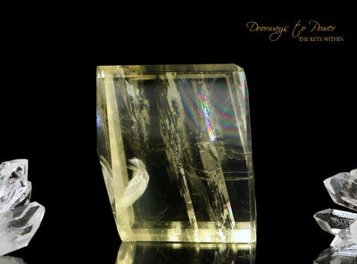 Golden Optical Calcite Crystal 'Multi Dimensional Awareness'