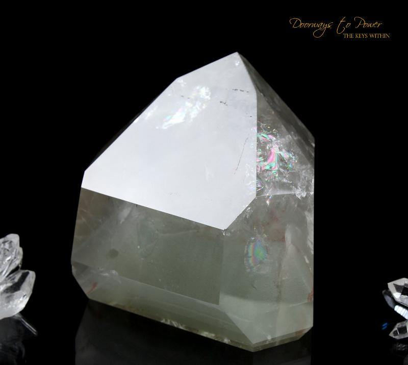 Phantom Quartz Crystal Point