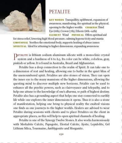 Petalite Meanings Properties Book of Stones