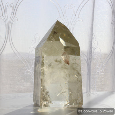 John of God Crystal Point Citrine Master Crystal & Abundance Stone