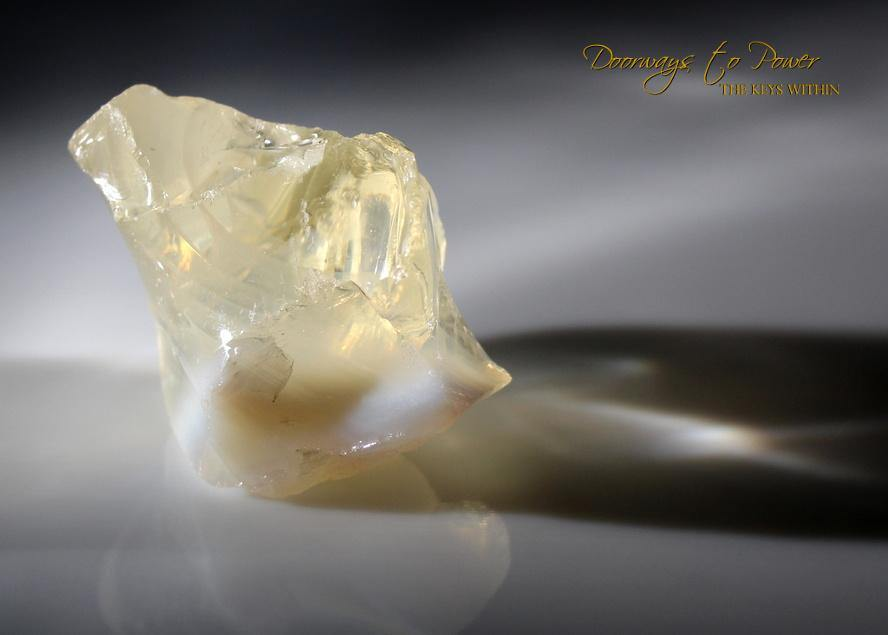Celestial Gold Angel Aura Opal Bi Color Andara