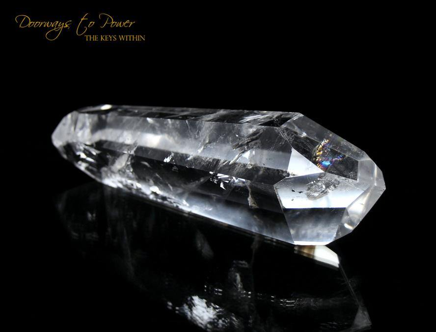 Double Terminated Quartz Master Dow Meditation Crystal