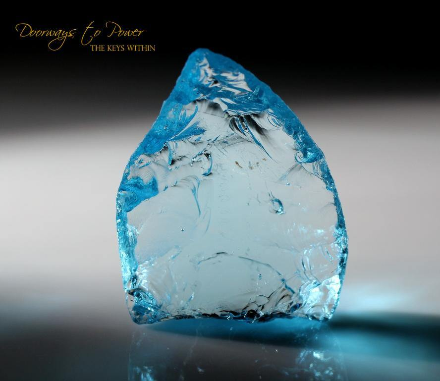 Blue Prism of Lyra Andara Crystal 7th Density