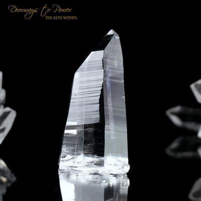 Colombian Lemurian Light Quartz Crystal 'Illuminate'