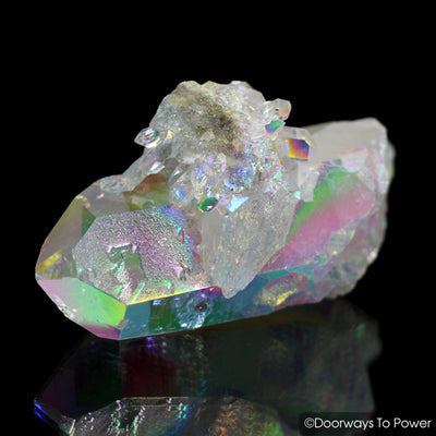 Angel Aura Arkansas Quartz Crystal Channeling Record Keeper 'Angel Healer'