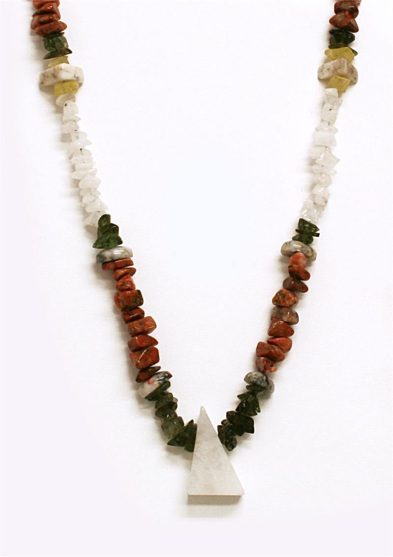 Alchemical Radiance Power Strand Crystal Energy Necklace