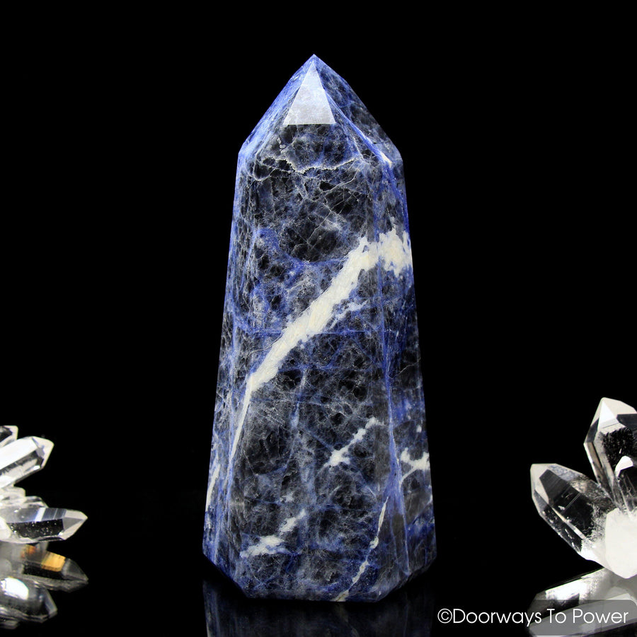 John of God Crystal Sodalite Temple Heart Dow