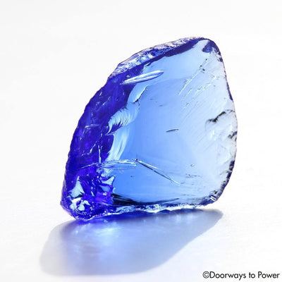 Majestic Elestial Starlight Sapphire Andara Crystal \ OverSoul \ Sixth Density Light