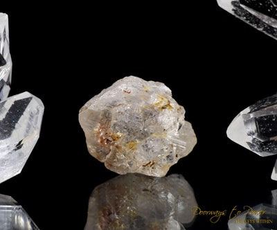 African Elestial Phenacite Crystal 'Light Codes'