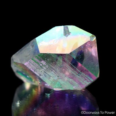 Angel Aura Quartz DT Pleiadian Starbrary Record Keeper Crystal