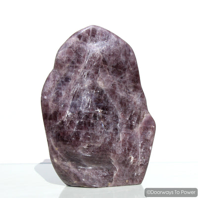 Purple Angelite Crystal 'Violet Aura' Ascension Stone Altar Stone