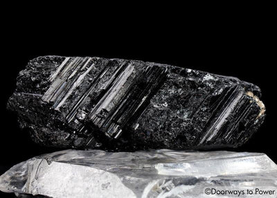 Black Tourmaline Crystal Protection Stone