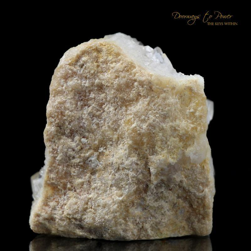Golden Sauralite Azeztulite Crystal 'Realms of Light'