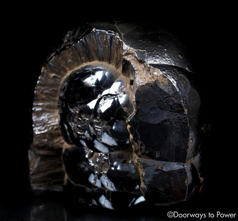 Rare XL Hematite Crystal Power Stone 'The Guardian'