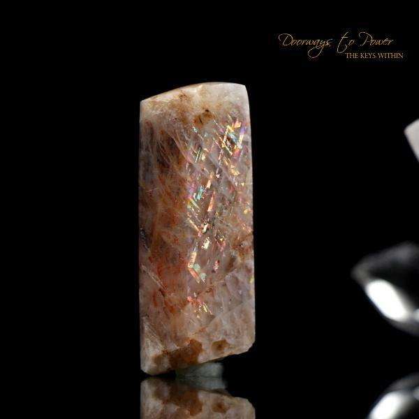 Rainbow Lattice Sunstone 'Rare & Mesmerizing'