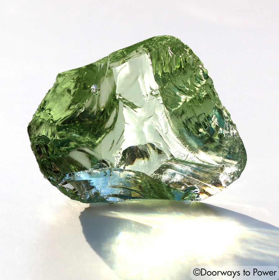 Terra Olive Earth Shaman Andara Crystal 'One Who Sees in the