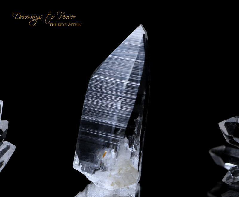 Colombian Azozeo Lemurian Light Crystal 'Illuminate'