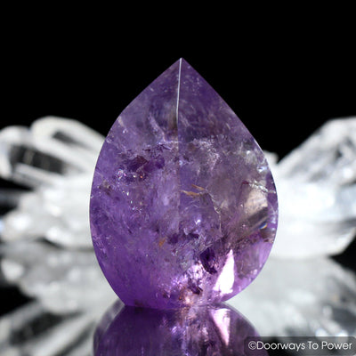 John of God Quartz Amethyst Casa Crystal Flame