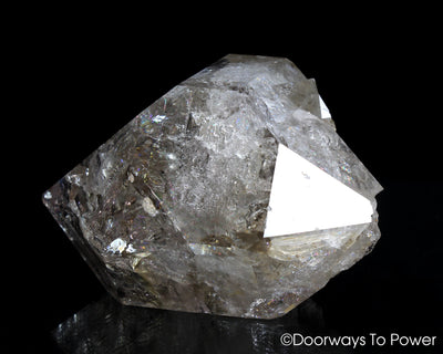 Herkimer Diamond DT Devic Temple Master Record Keeper Crystal 'Portal Access'
