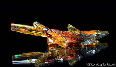 Zincite Crystal Specimen 'StarShip' A+++ Collectors Quality