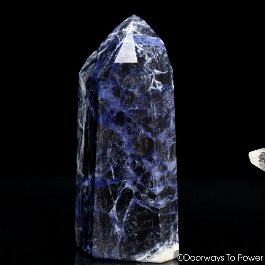 John of God Crystal Sodalite Temple Heart Dow Crystal