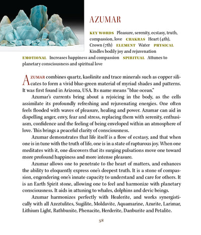 Azumar Crystal 'Samadhi' Ecstatic Rapture