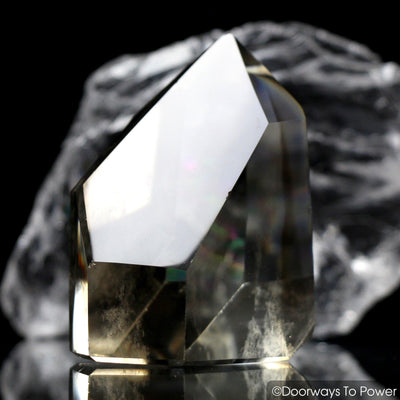 John of God Crystal Smoky Quartz Phantoms Casa Crystal
