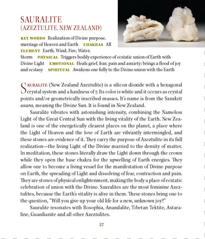 Sauralite Metaphysical Meaning Properties - Book of Stones