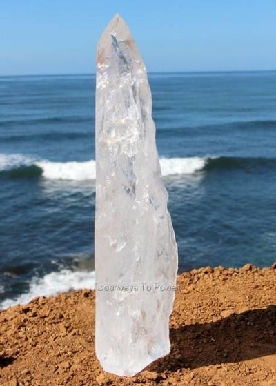 Quartz Crystal Laser Wand  Tower