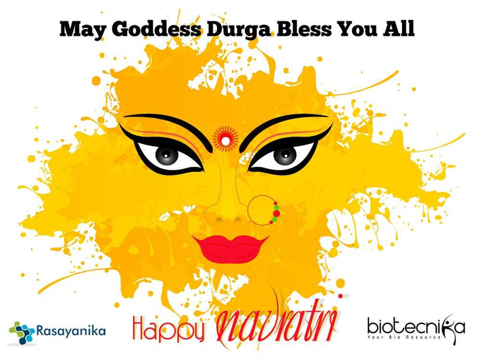 Happy Navratri to all BioTecNika CSIR NET & GATE Aspirants