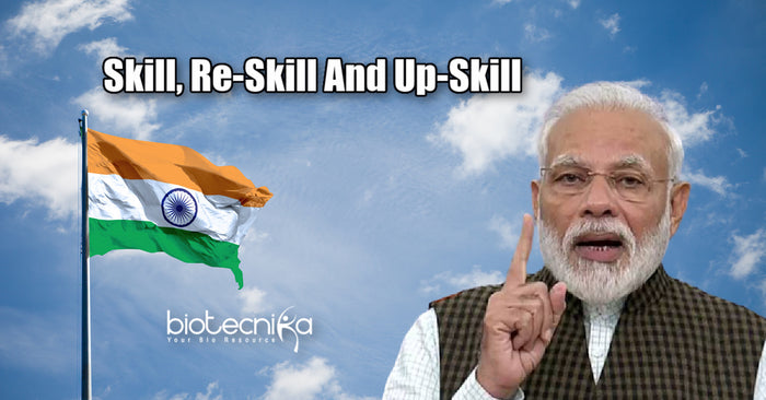 Indian Youth must Skill, Re-Skill & Up-Skill to keep up with the demand - Indian PM